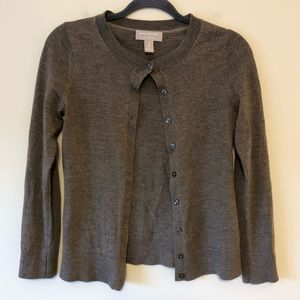 Banana Republic Brown Wool Cardigan